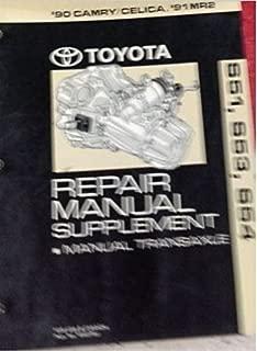 1990 TOYOTA Camry Celica 1991 MR2 Repair Manual Supplement Manual Transaxle OEM
