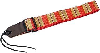 EXCEART Guitar Leather Ends Strap Leather Ukulele Strap Ukulele Shoulder Strap Adjustable Length Strap for Ukulele Guitar...