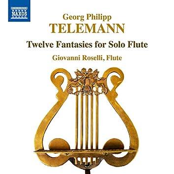 Telemann: 12 Fantasias for Flute, TWV 40:2-13