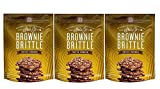 Gourmet Food Gifts! - Sheila G's Brownie Brittle 5oz Bag (3 Pack Toffee Crunch)