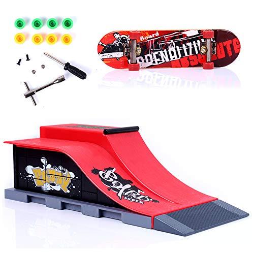 Sipobuy DIY Assembly Mini Finger Skateboard Deck Truck Skate