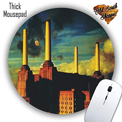 Pink Floyd Animals Mousepad - Mat - Round or Rectangle - Beautiful Design - Mouse pad Co Worker Gift Custom Made Mousepad (Round)