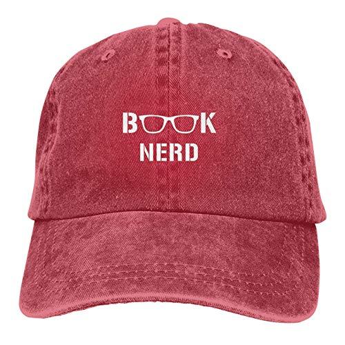 Libro Nerd Gafas De Lectura Tapa De Cobertura Para Mujeres Y Hombres Caliente Grueso Caliente Invierno Hedging Cap, rosso, Talla única