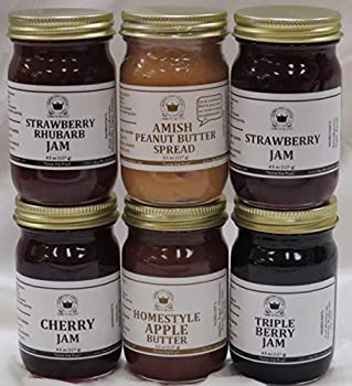 Best Sellers Gift Box  6-4.5 oz jars in a gift box