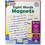 Active Minds Sight Words Magnets - Learn and Practice Language Building Skills needed for Reading (Ages 5 and Up)