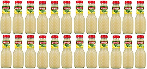 24 Flaschen a 200ml Granini Banane Fruchtgehalt 25% in MEHRWEG Pfand Glas Flaschen Bananen Trinkgenuss