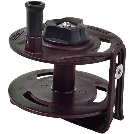 Reel for Arbalete Man Capacity 50mt x1.5mm SALVIMAR Mini Reel 50 Black