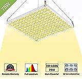 CXhome LED Grow Light, 75W Full Spectrum 3500K...