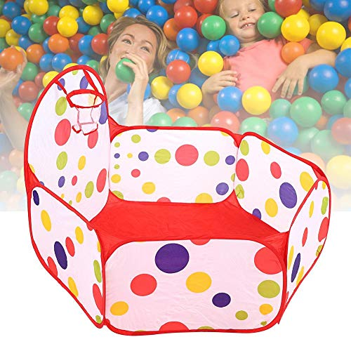 Foldable Shooting Game for Children, Portable Cartoon Children Toy Tents Baby Balls Pool Up Kid Outdoors Tent - Durable Storage Mesh Bag with Zipper(150CM shooting box)