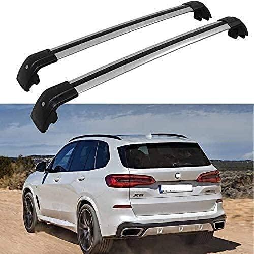 Auto Portapacchi Railing per BMW X5 G05 2019 2020 2021, Alluminio Barre Di Trasporto Portabagagli Portabici Portatutto Accessori Per Lo Styling Dell'Auto