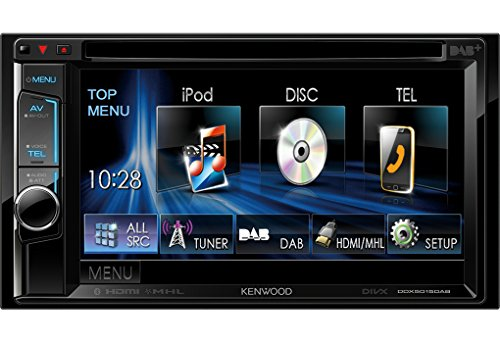Kenwood DDX-5015DAB - Cargador de medios digitales para coche
