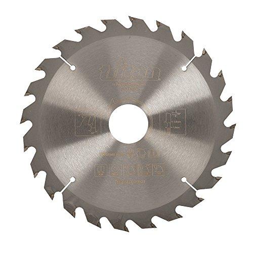 Triton TPTA41702531 Disco de corte para sierra circular, 0 V, Plata, 165 x 30 mm 24T