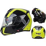 バイクヘルメット T270ダブルシールド サイズは選択可 インナー脱着可 オートバイク シールド付き メンズ レディース ハーフ  パイロット オシャレ オールシーズン ジェットヘルメット  オープンフェスヘルメット (XL)