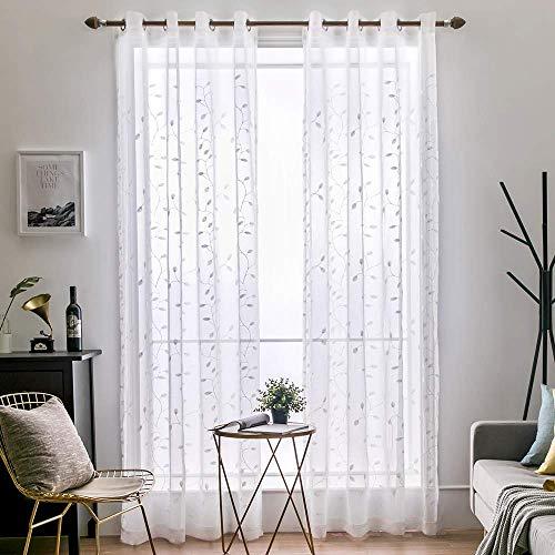 cortinas habitacion gris y azul