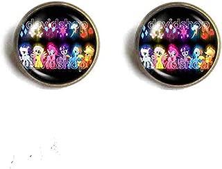 Handmade Fashion Jewelry Rainbow dash My Little Pony Friendship Is Magic Ear Cuff Earring Cosplay Charm Cute Gift