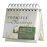 DaySpring Flip Calendar - Promises and Blessings - 16766, Green