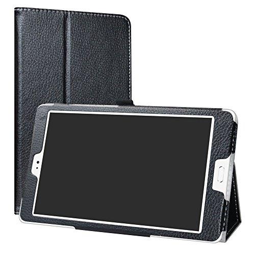 Teclast T8 Custodia,LiuShan slim Sottile Pieghevole con supporto in Piedi caso per 8.4  Teclast T8 Android Tablet,Nero
