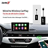 Carlinkit Wireless Carplay Adapter, USB-Dongle für werkseitig verkabelten CarPlay-kompatiblen...