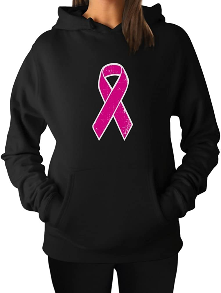 Tstars Breast Cancer low-pricing Awareness Pink Directly managed store Sweatshirt Ribbon Distressed