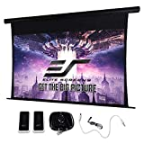 Elite Screens Starling Tab-Tension 2 CineGrey 5D, 92' 16:9, 8K 4K Ultra HD Ready Ceiling and Ambient Light Rejecting Electric Projector Screen, CineGrey 5D Projection Material, STT92UHD5-E12
