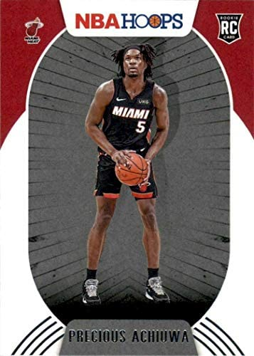Miami Heat 2020 2021 Hoops Factory Sealed Team Set with a Rookie card of Precious Achiuwa