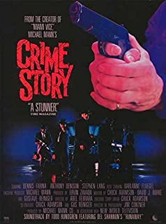 Crime Story 11 x 17 Movie Poster