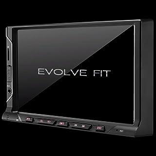 Central Multimídia Evolve Fit 7 Pol. 2 Din Mirror LINK MP5 4x35w Bluetooth + Rádio FM + Entrada Cartão SD + USB + AUX Mult...