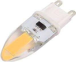 X-DREE AC 220V 6W COB LED Corn Light Bulb Silicone Lamp Dimmable G4 2P 1505 Warm White (6e08338d-a222-11e9-8d7c-4cedfbbbda4e)