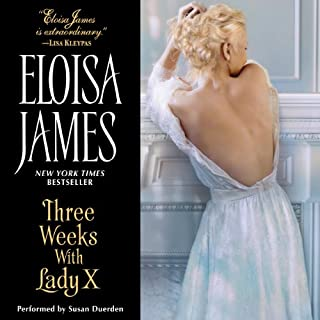 Three Weeks with Lady X audiobook cover art