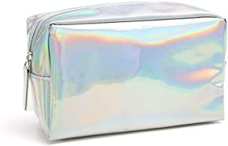 Holographic Makeup Bag - Cute Pencil Case Fashion Cosmetic Pouch Zipper Purse Storage Bag for Women