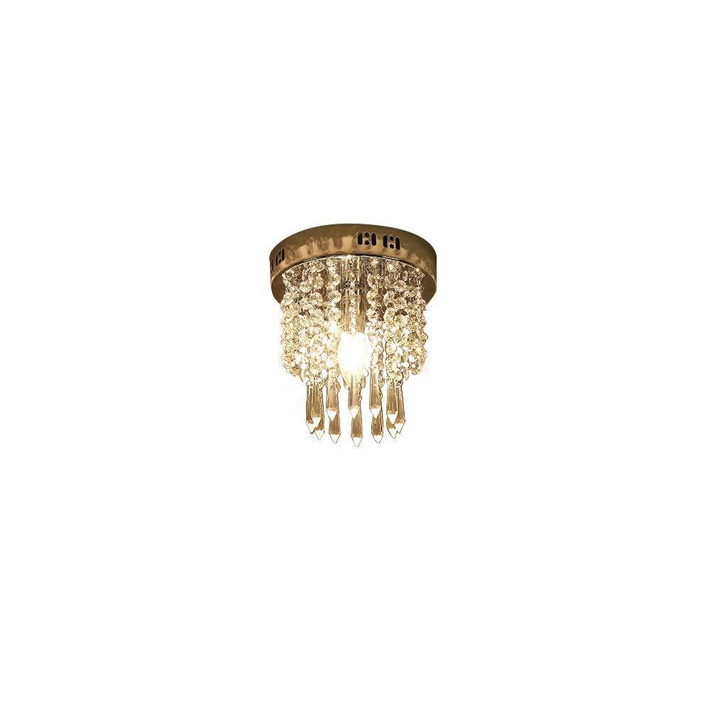 Etelux L/ámpara Colgante LED de Cristal Ara/ña Moderna L/ámpara Colgante L/ámpara de Techo Iluminaci/ón Interior para comedor dormitorio sal/ón