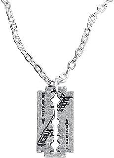 Alchemy Rocks Judas Priest Razorblade Logo Pendant