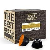 Note d'Espresso Italiano - Cápsulas de café de Colombia Compatibles con cafeteras de cápsulas Nescafé* y Dolce Gusto* 7g (caja de 48 unidades)