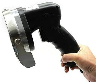 Cuchillo de barbacoa eléctrico de acero inoxidable, cortador de kebab, ancho de corte ajustable, acceso para uso privado y comercial