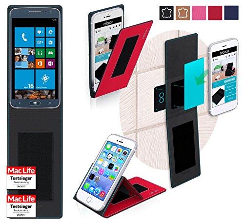 Hülle für Samsung ATIV S Neo Tasche Cover Hülle Bumper | Rot | Testsieger