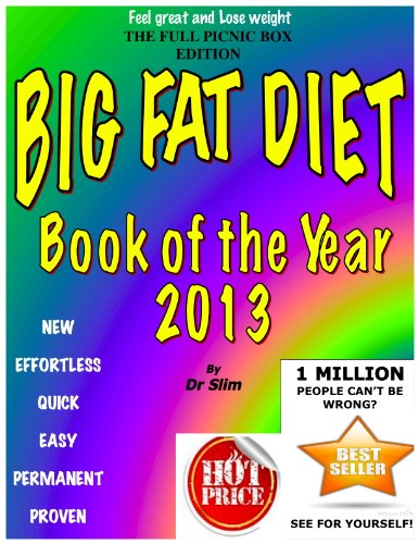 BIG FAT DIET BOOK OF THE YEAR 'Full Picnic Box Edition' (Dr Slim 1) (English Edition)