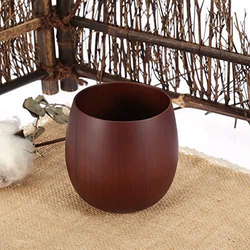 Changor Taza de madera tradicional, uso desde hace mucho tiempo, de madera como una taza de té para café, vino y agua