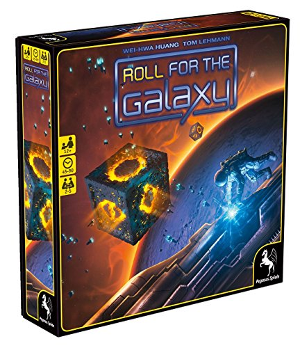 Pegasus Spiele 53040G - Roll for the Galaxy