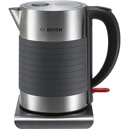 Bosch Electroménager TWK7S05 Bouilloire, 2200 W, 1.7 liters, Gris