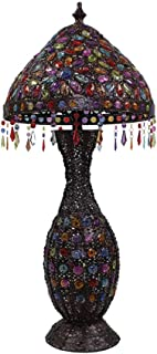 -Lampe de solon European Lamp Floor Creative Couloir Hôtel Vase permanent Lampe de chevet Salon Chambre Rétro Lampe décora...