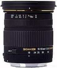 Sigma 18-50mm f/2.8 EX DC SLD ELD Aspherical Macro Lens for Canon Digital SLR Cameras