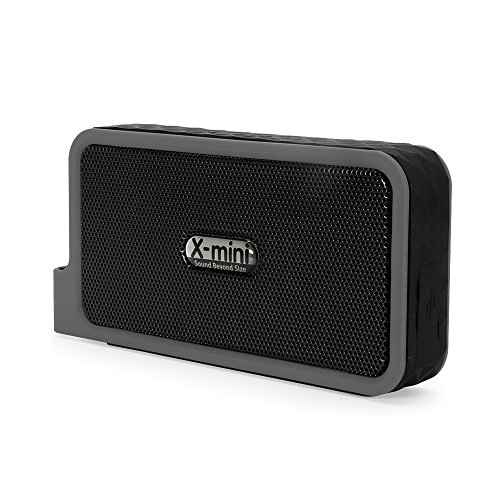 X-mini EXPLORE Plus Wireless Bluetooth Portable Stereo Speaker Splash Proof (Black)