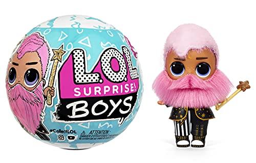 LOL Surprise Boys Serie 5 Muñeco - 7 sorpresas: pegatinas, ropa y accesorios - Efectos de cambio en agua - Caja reutilizable - Juguete para niños a partir de 3 años