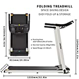 Zoom IMG-1 lontek tapis roulant elettrico pieghevole