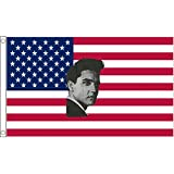 AZ FLAG Flagge USA MIT Elvis Presley 150x90cm - VEREINIGTEN Staaten VON Amerika Fahne 90 x 150 cm - flaggen Top Qualität