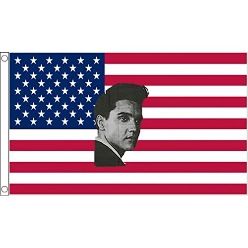 AZ FLAG Drapeau USA Elvis Presley 90x60cm - Drapeau américain - Etats-Unis 60 x 90 cm - Drapeaux