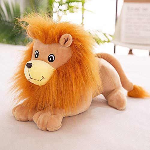 Ragdoll Leeuw Knuffel Lion King Simba Doll-orange_23cm