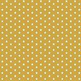 Hans-Textil-Shop Stoff Meterware Sterne 8 mm - 1 Meter -