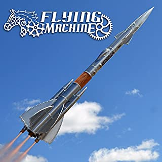 Apogee Flying Machine Steampunk Model Rocket Kit