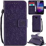 Ooboom® Huawei Y3 II / Y3 2 Hülle Sonnenblume Muster Flip